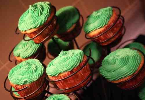 St Patrick's cupcakes 4
